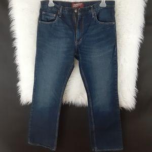 Mens Arizona Jean Boot Cut Jean's Size 34/30